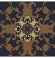 Wallpaper in the style of baroque vector