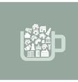 House a cup vector