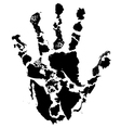 Hand print global vector
