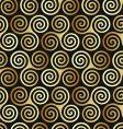 Celtic spiral pattern vector