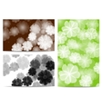 Abstract flora background vector