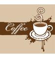 Coffee banner vector