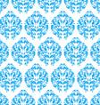 Blue vintage seamless pattern vector