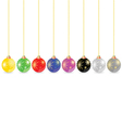 Decorative ball in different color vector