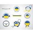 Made in ukraine - seals badges vector