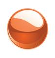 Shiny sphere 02 orange vector