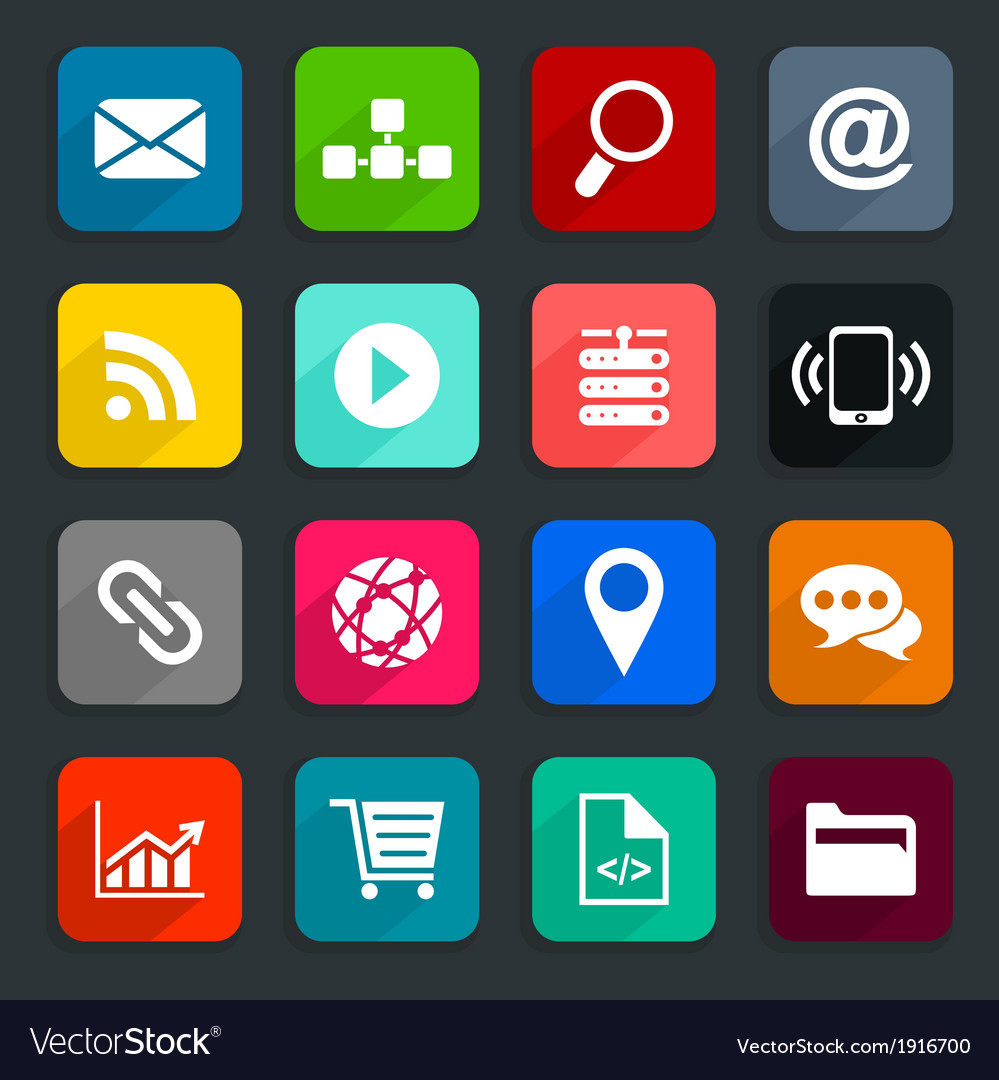 Internet an icon vector | Price: 1 Credit (USD $1)