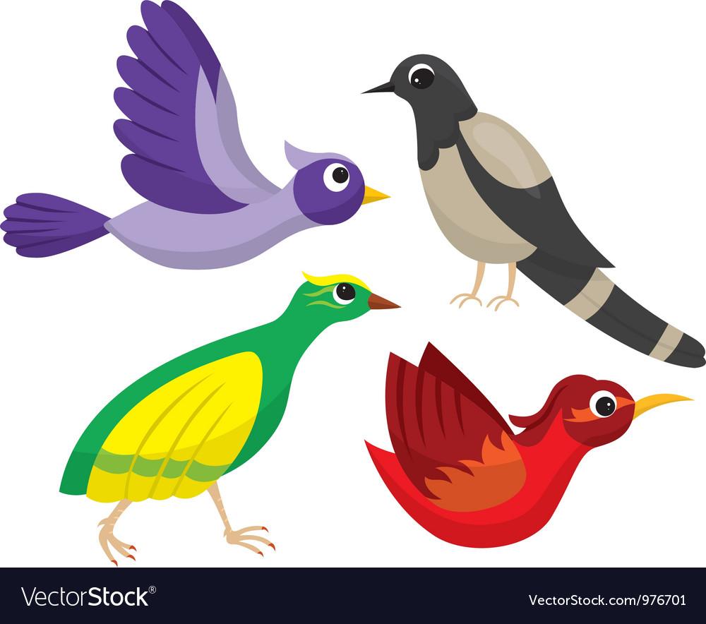 Birds vector | Price: 3 Credit (USD $3)