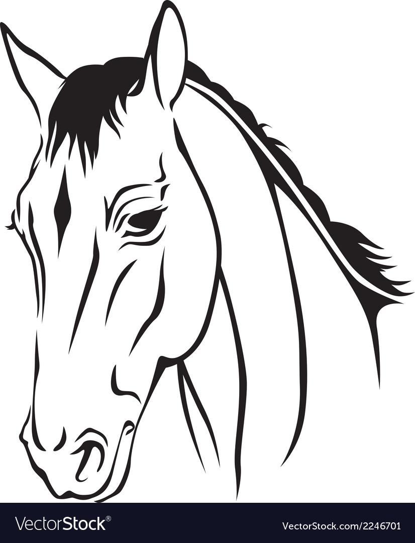 Horse logo vector | Price: 1 Credit (USD $1)