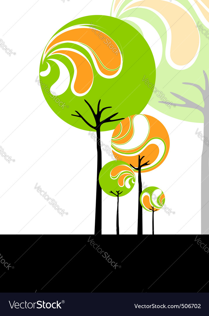 Abstract springtime vector | Price: 1 Credit (USD $1)