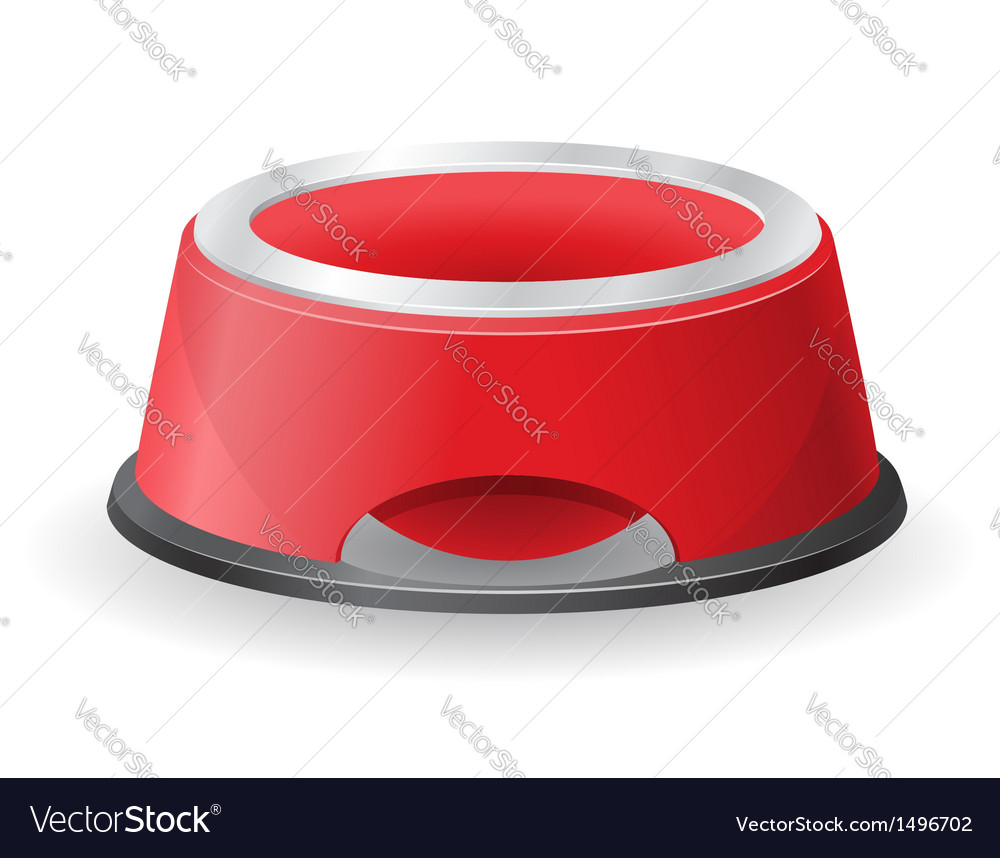 Dog bowl for food vector | Price: 1 Credit (USD $1)