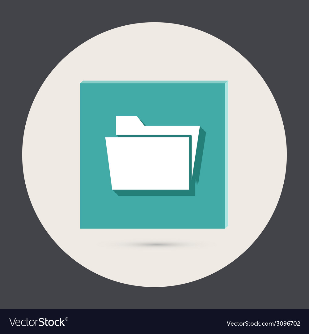 Folder for documents vector | Price: 1 Credit (USD $1)