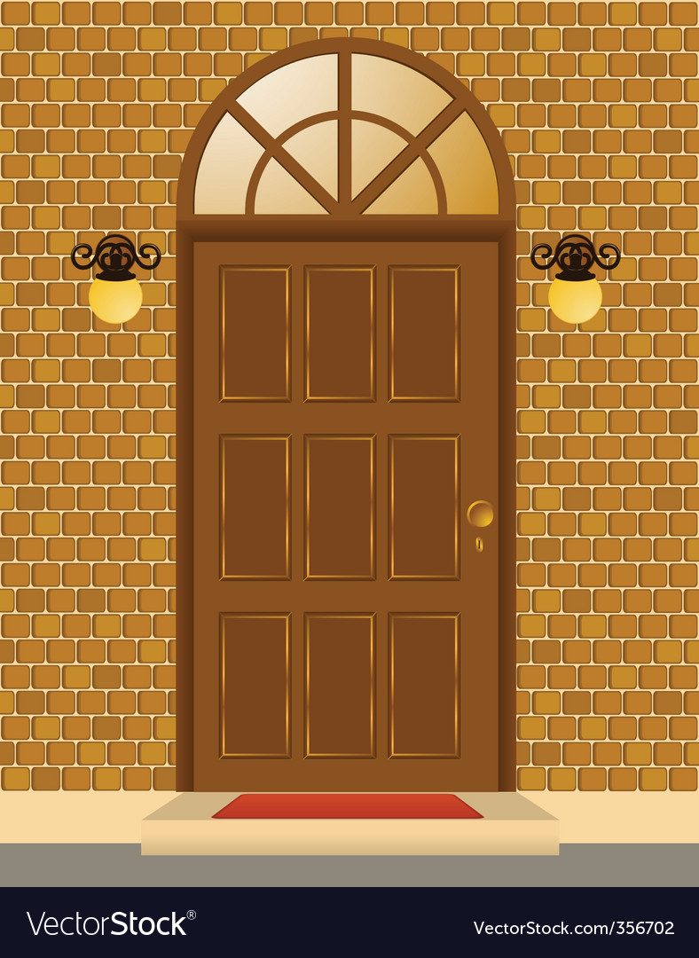 Front door vector | Price: 1 Credit (USD $1)