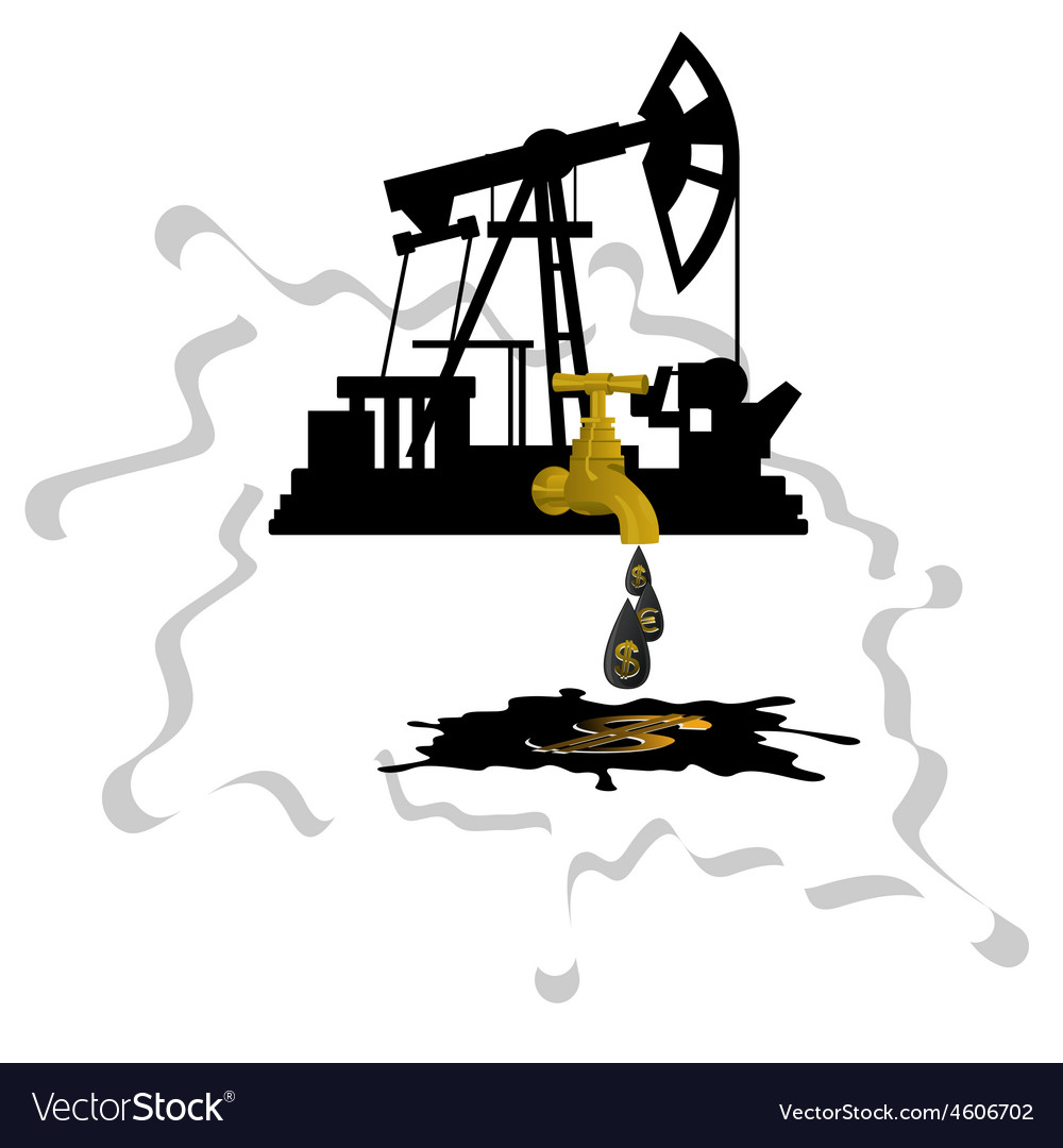Oil extraction 1 vector | Price: 1 Credit (USD $1)