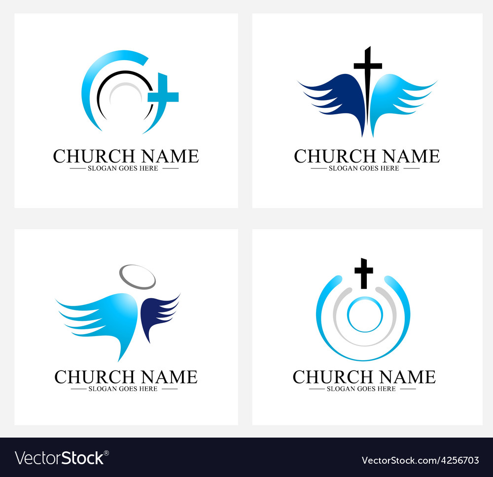 Church logo design vector | Price: 1 Credit (USD $1)