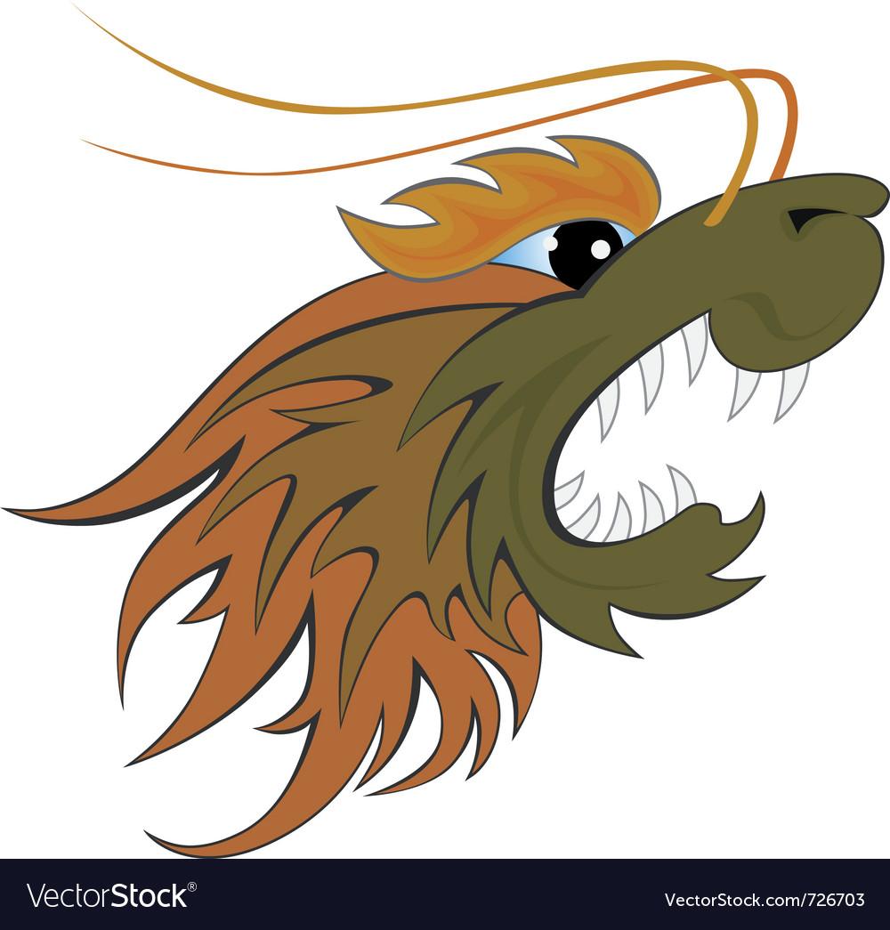Dragon head vector   Price: 1 Credit (USD $1)