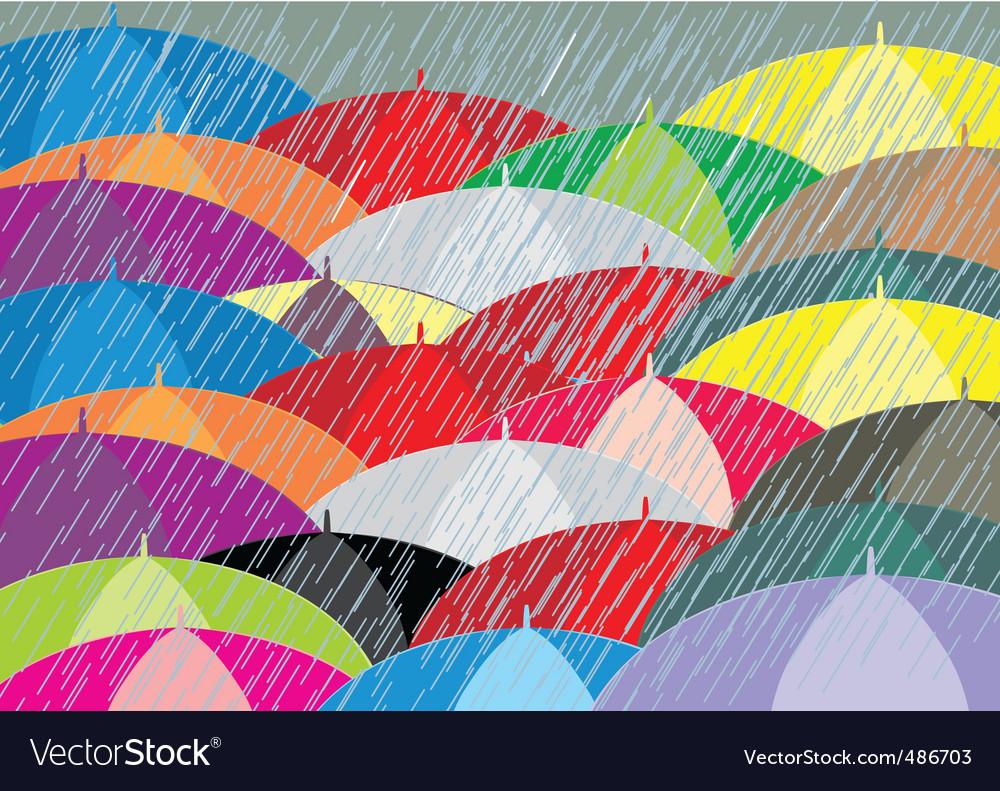 Rain vector | Price: 1 Credit (USD $1)