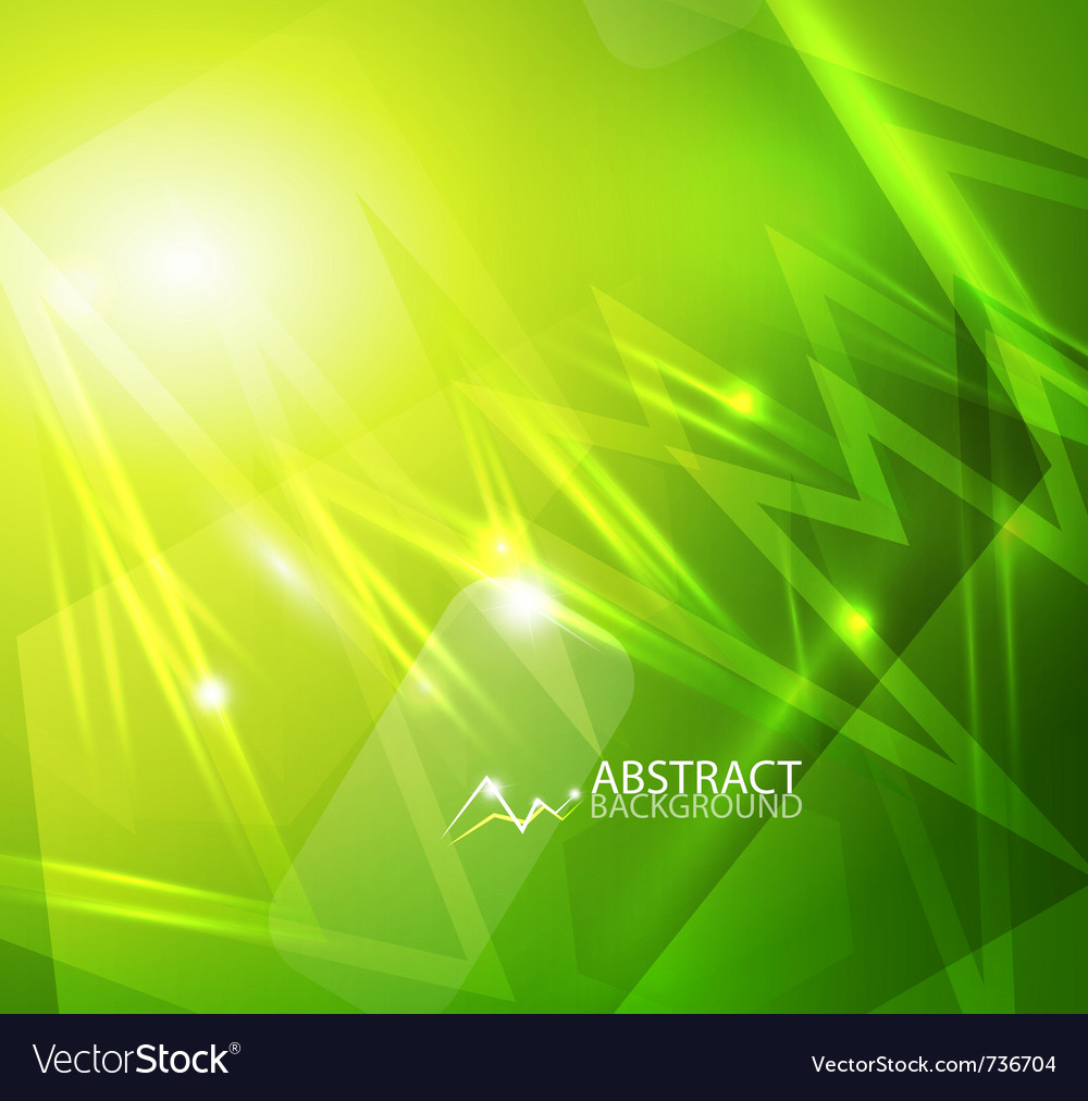 Green lightning vector | Price: 1 Credit (USD $1)