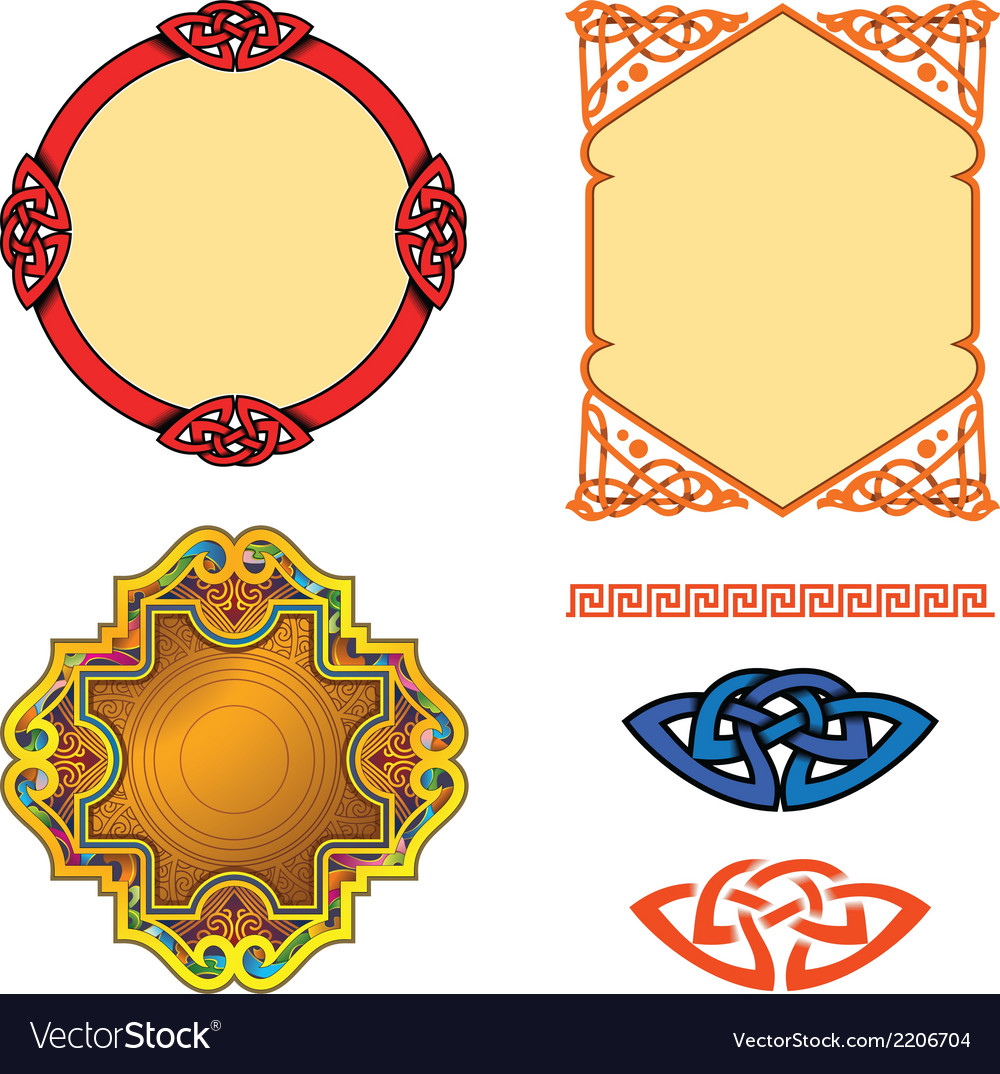 Ornaments vector | Price: 1 Credit (USD $1)