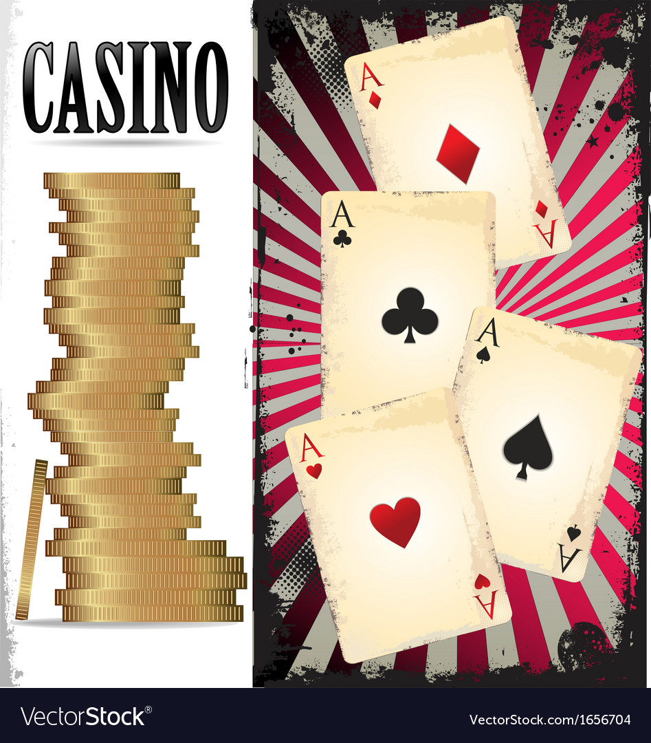 Poker cards and chips vector | Price: 1 Credit (USD $1)