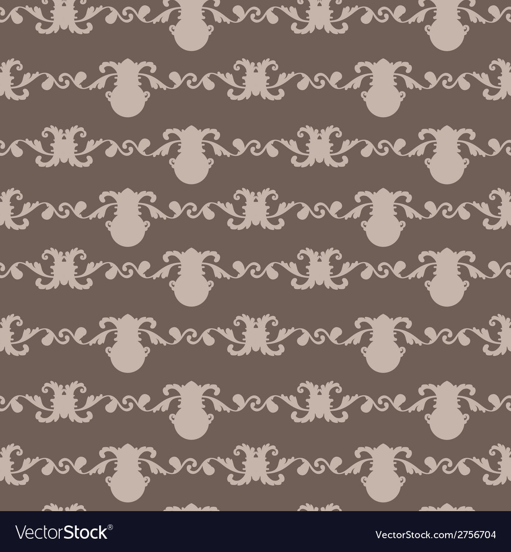 Wallpaper in the style of baroque vector   Price: 1 Credit (USD $1)