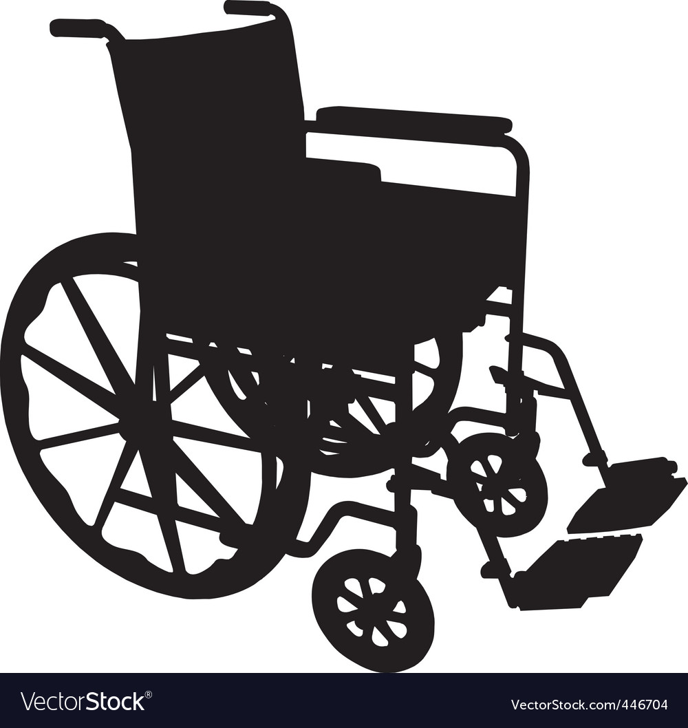 Wheelchair vector | Price: 1 Credit (USD $1)
