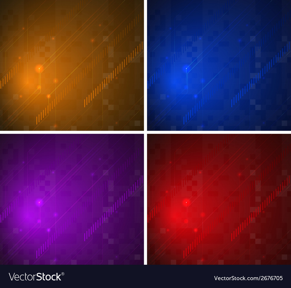 Colorful background patterns vector | Price: 1 Credit (USD $1)