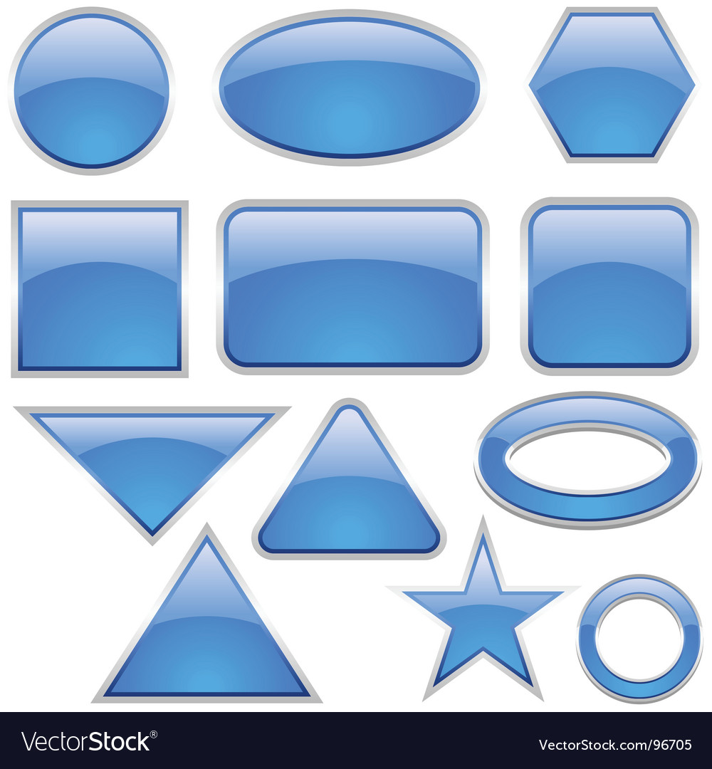 Glass icons vector | Price: 1 Credit (USD $1)