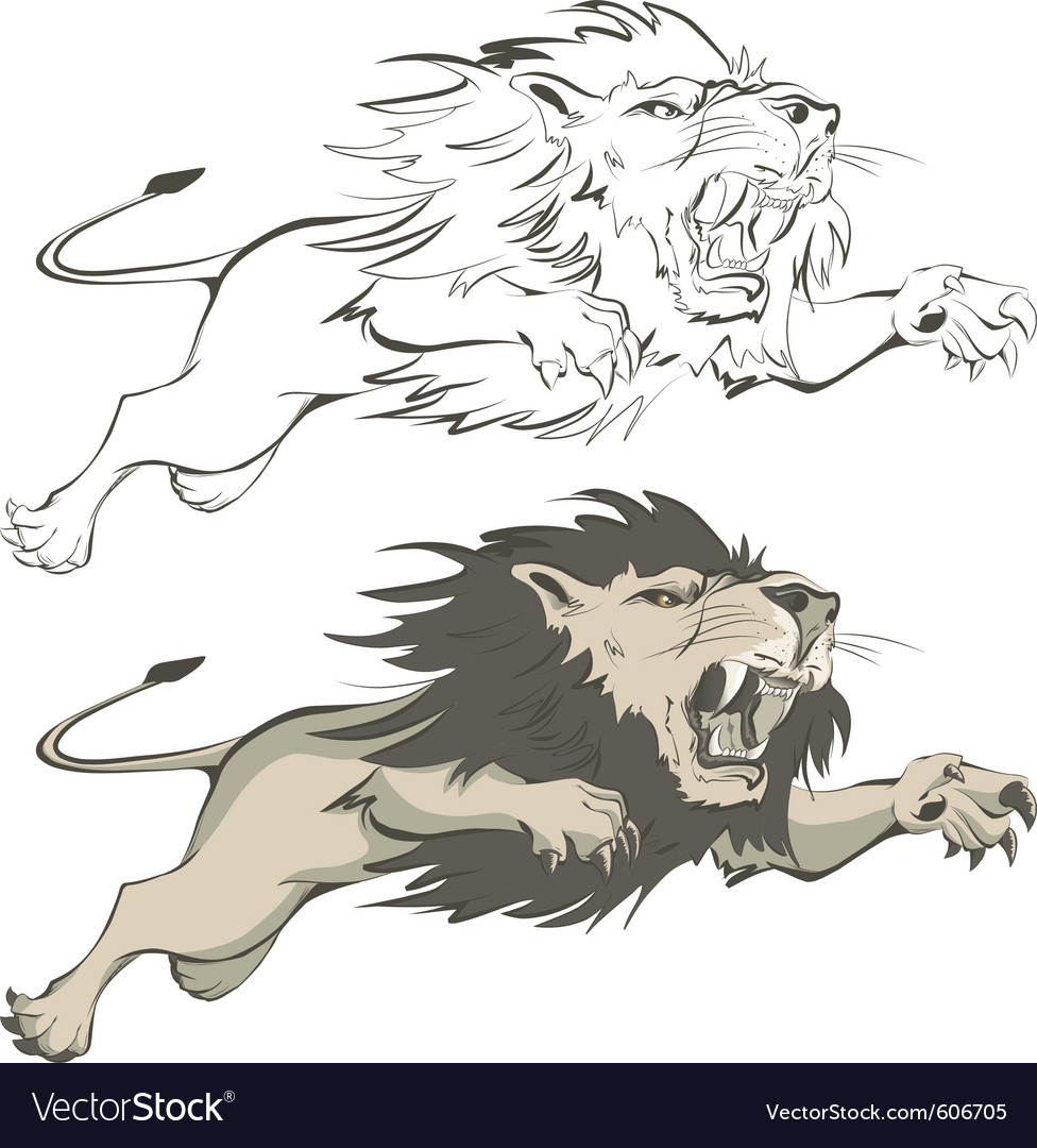 Invincible lion vector | Price: 3 Credit (USD $3)