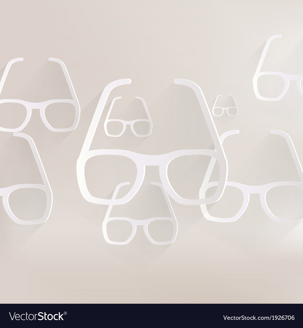 Glasses icon vector | Price: 1 Credit (USD $1)