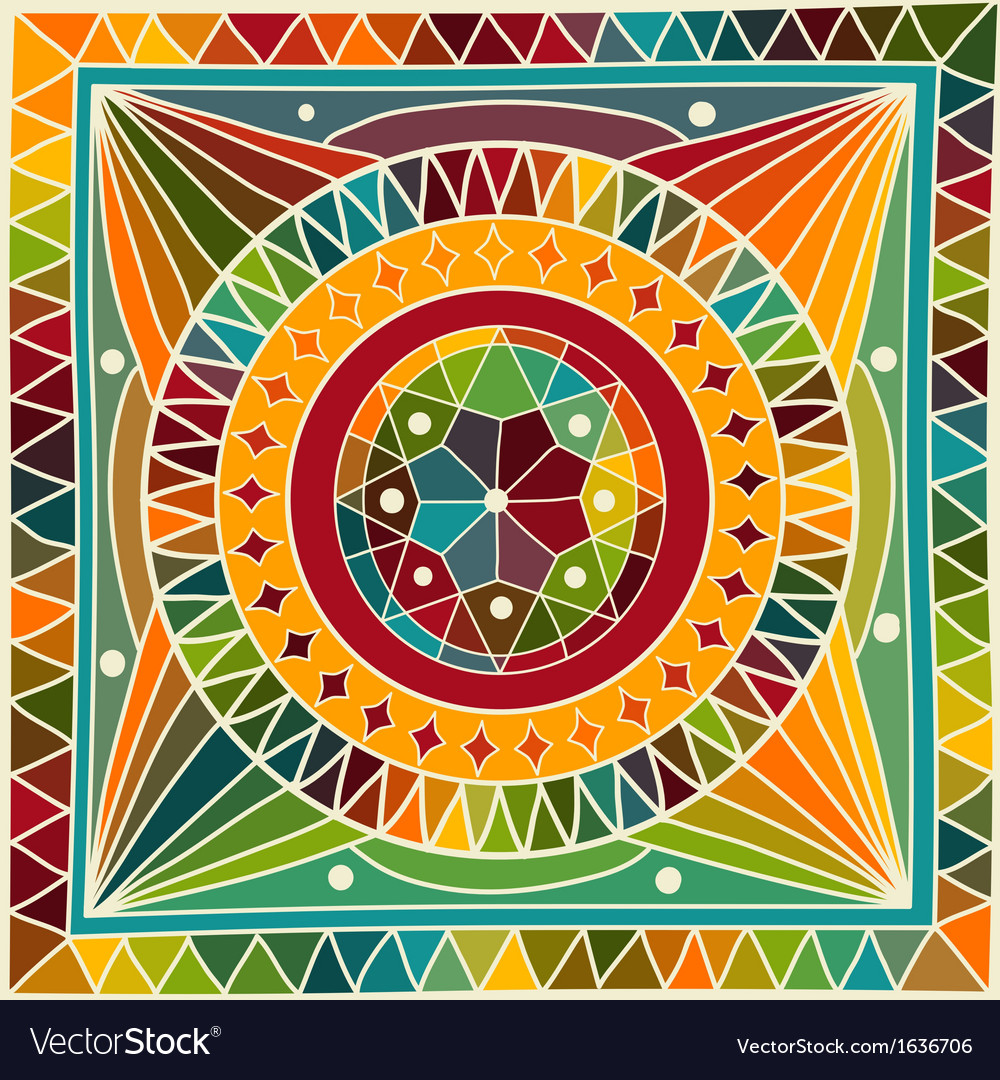 Mandala vector | Price: 1 Credit (USD $1)