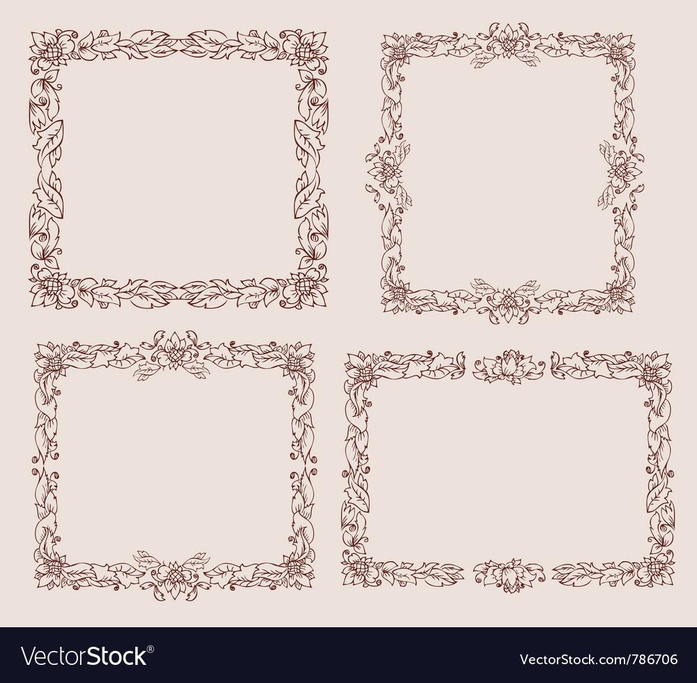 Ornament doodles vector | Price: 1 Credit (USD $1)