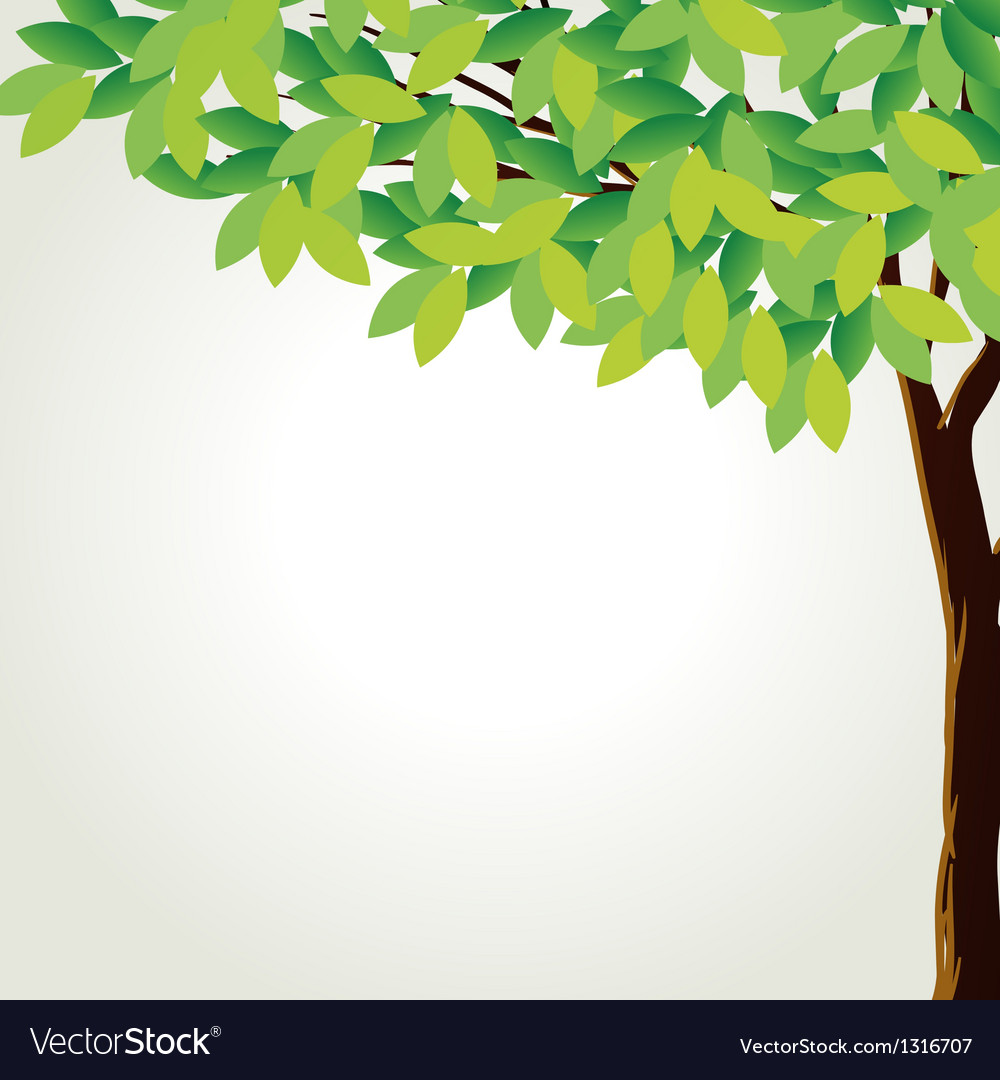 A tall tree vector | Price: 1 Credit (USD $1)