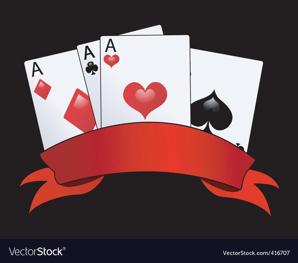 Aces vector | Price: 1 Credit (USD $1)