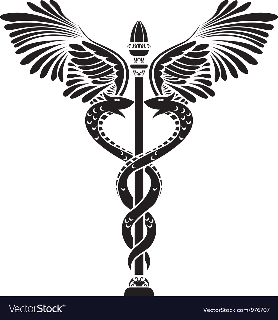 Caduceus vector | Price: 1 Credit (USD $1)
