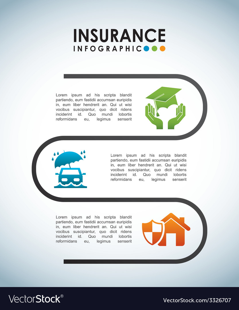 Insurance design vector | Price: 1 Credit (USD $1)