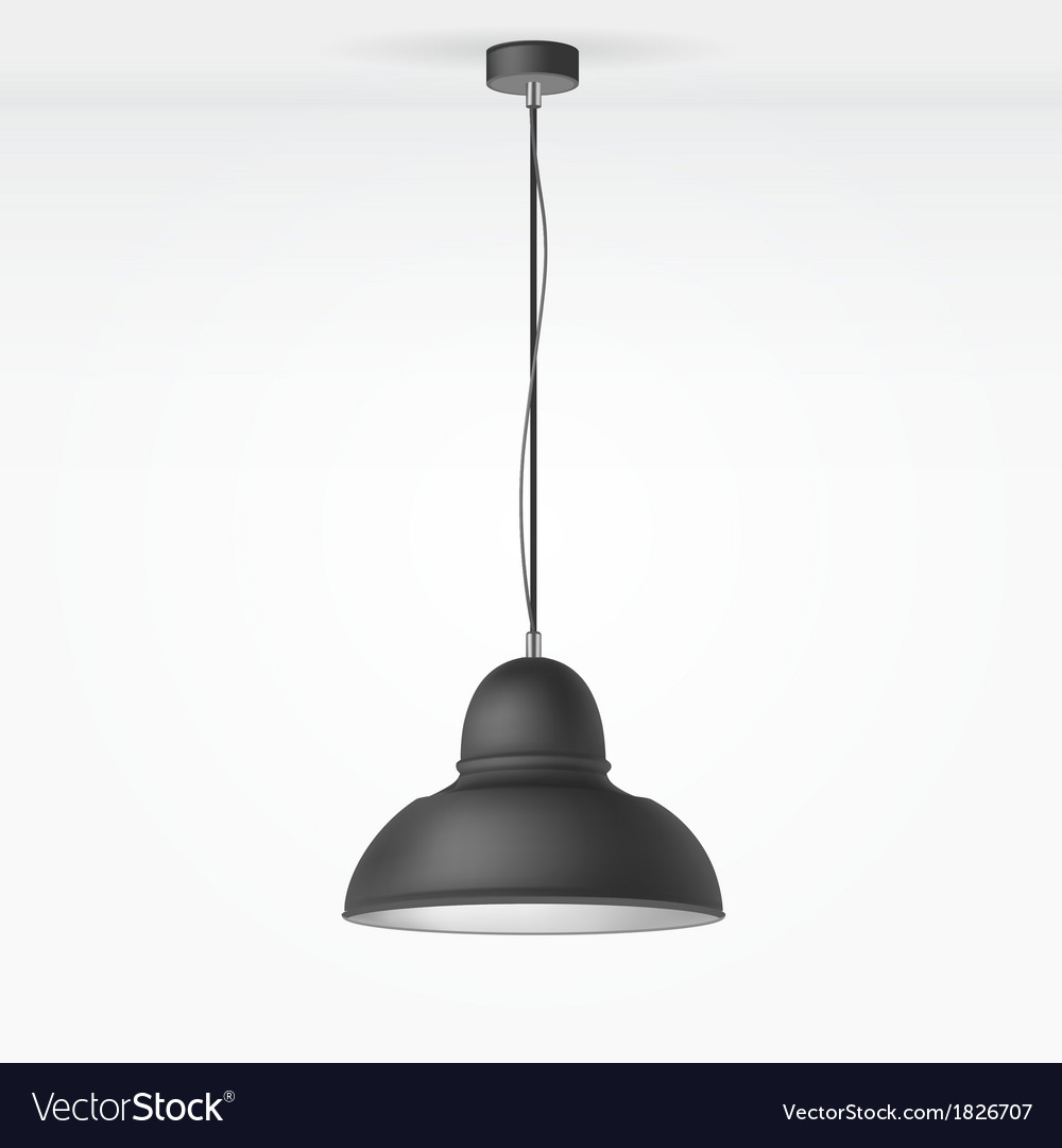Isolated lamp vector | Price: 1 Credit (USD $1)