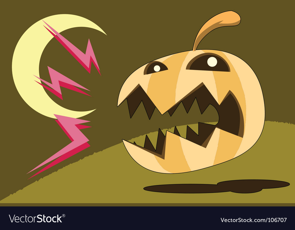 Pumpkin bark vector | Price: 1 Credit (USD $1)