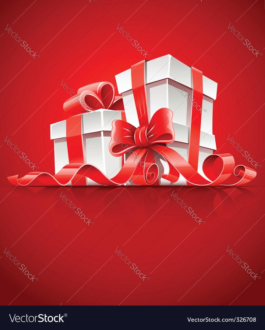Gift box vector | Price: 3 Credit (USD $3)