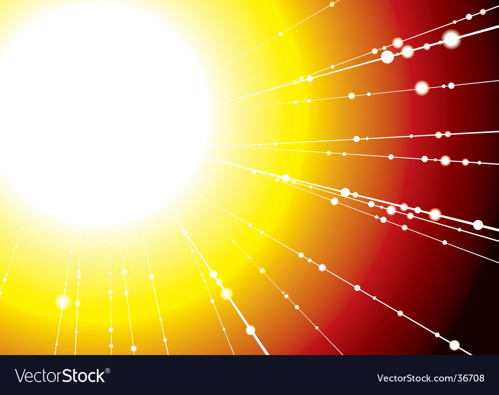 Sun ray vector | Price: 1 Credit (USD $1)