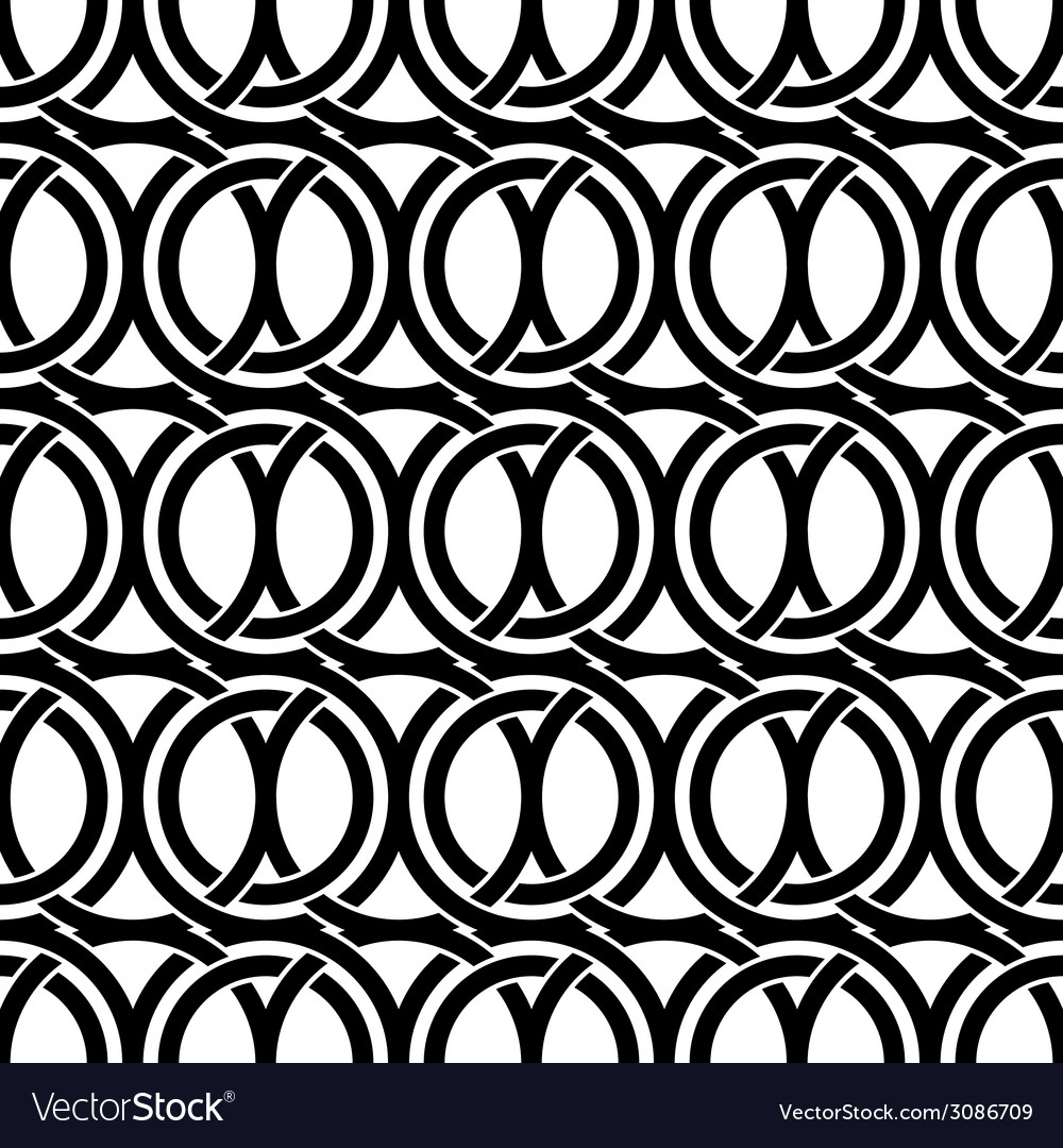 Black and white vintage style ornate mesh seamless vector | Price: 1 Credit (USD $1)