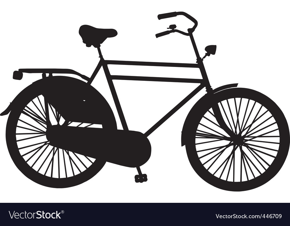 Dutch roadster bicycle vector | Price: 1 Credit (USD $1)