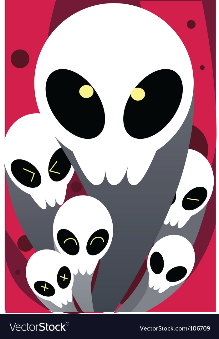 Ghost group vector | Price: 1 Credit (USD $1)