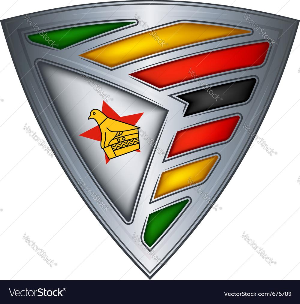 Steel shield zimbabwe vector   Price: 1 Credit (USD $1)