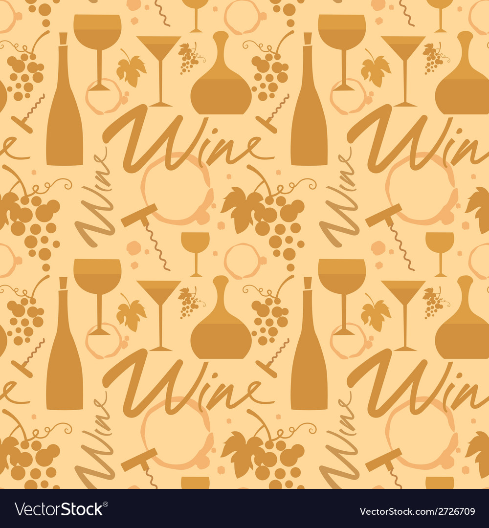 White wine pattern vector | Price: 1 Credit (USD $1)