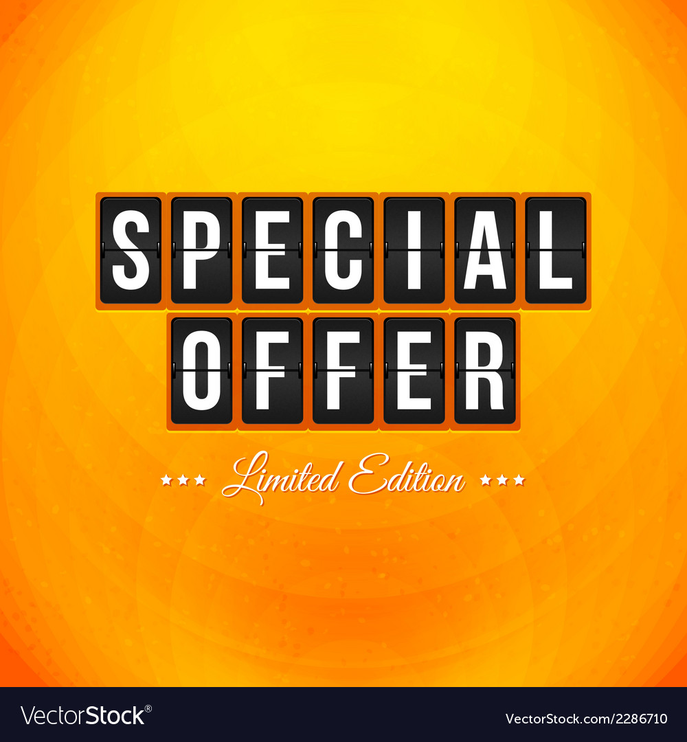 Abstract business poster typography design vector | Price: 1 Credit (USD $1)