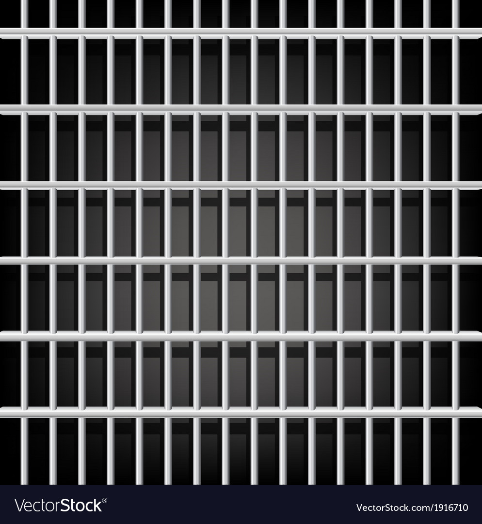 Prison grid on black vector | Price: 1 Credit (USD $1)