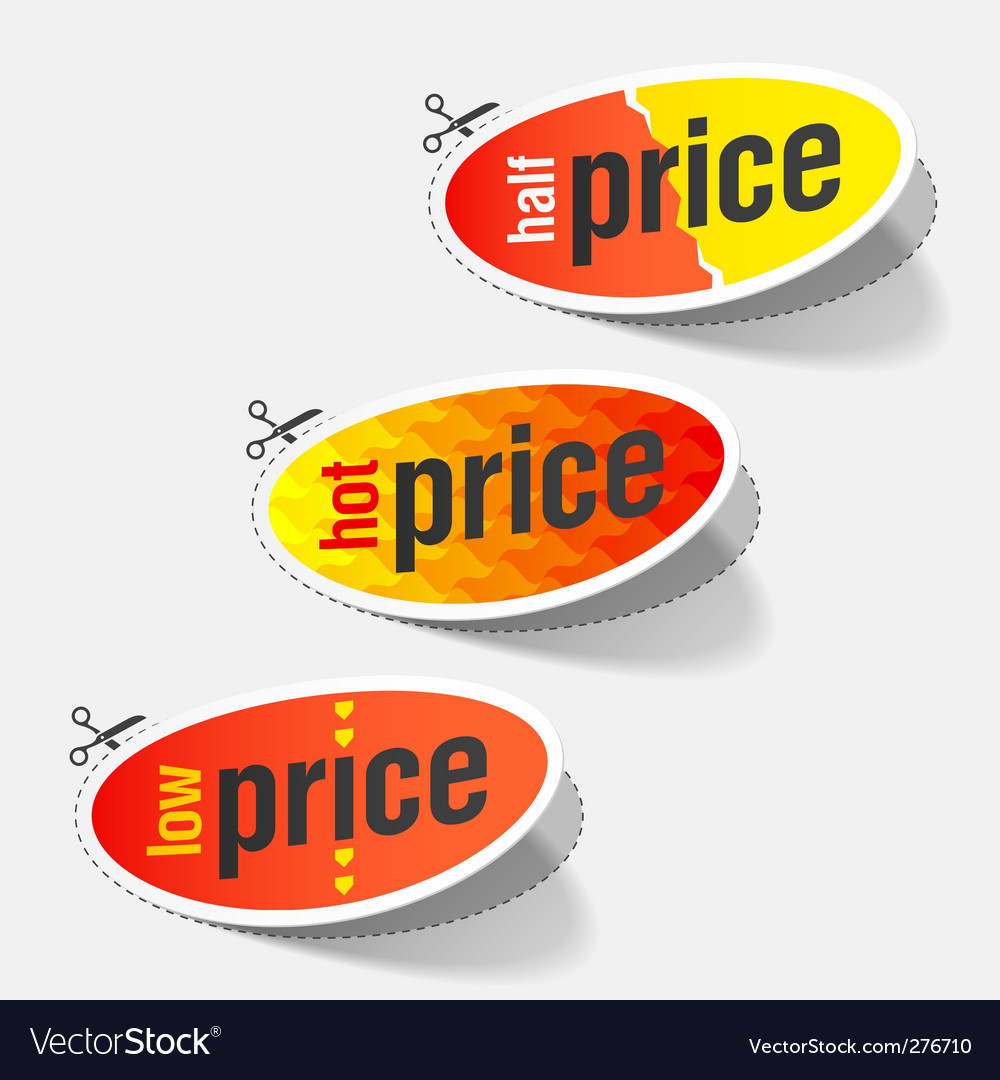 Retail sale signs vector | Price: 1 Credit (USD $1)