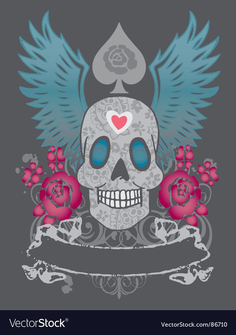 Skull vector | Price: 1 Credit (USD $1)