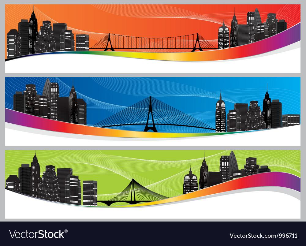City set color abs vector | Price: 1 Credit (USD $1)